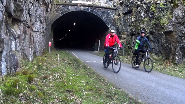 Riding the Monsal Trail