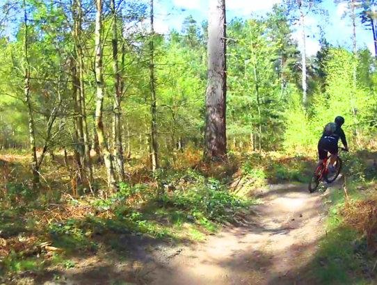 Riding The Kitchener Trail at Sherwood Pines