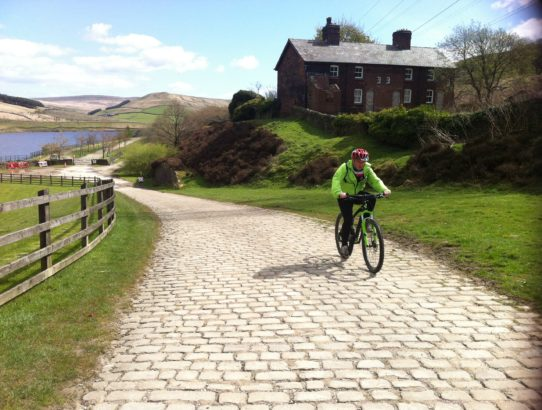 Riding The Longdendale Trail in Derbyshire