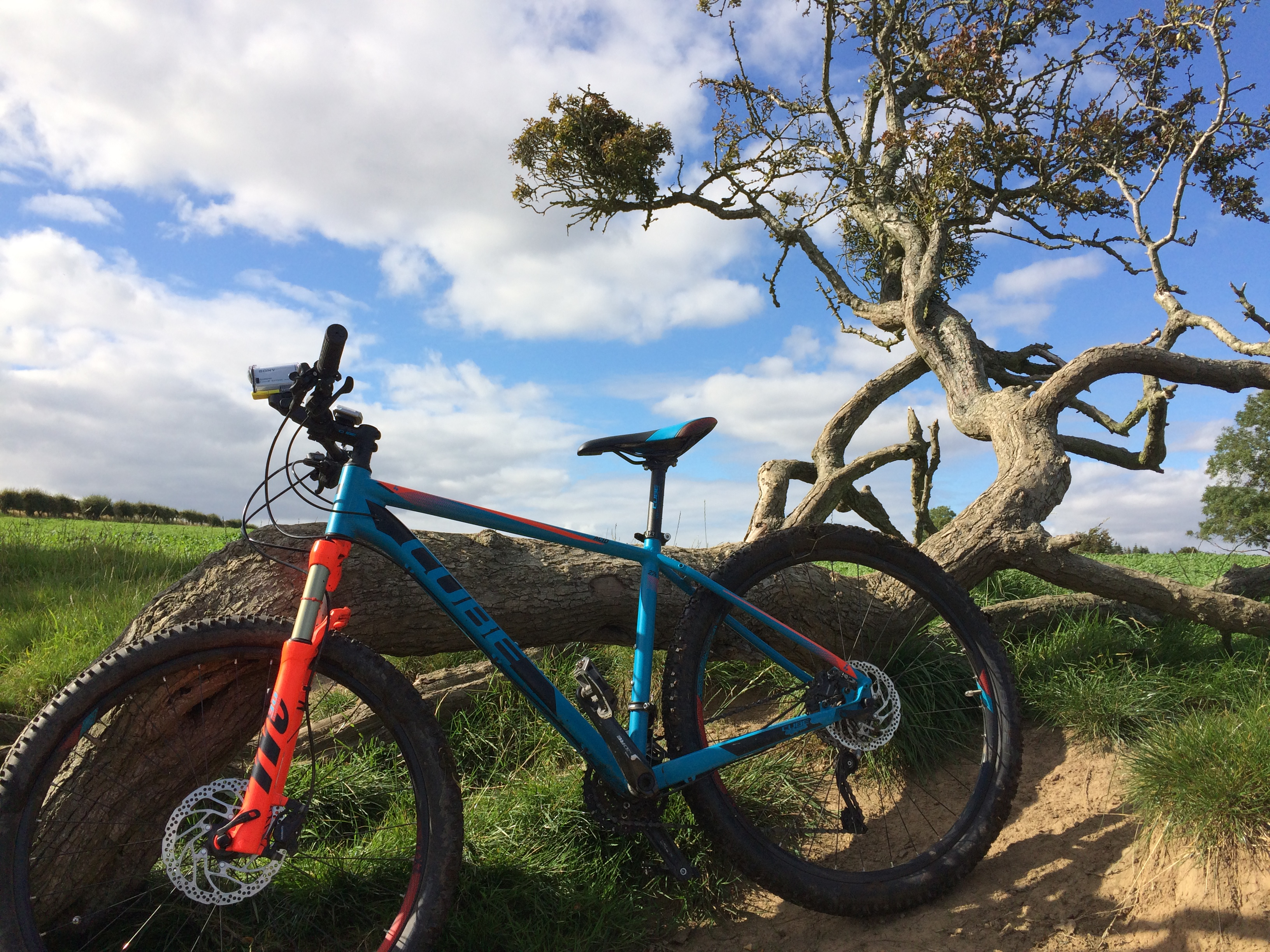 The Sandstone Way a Great MTB Route, Part I